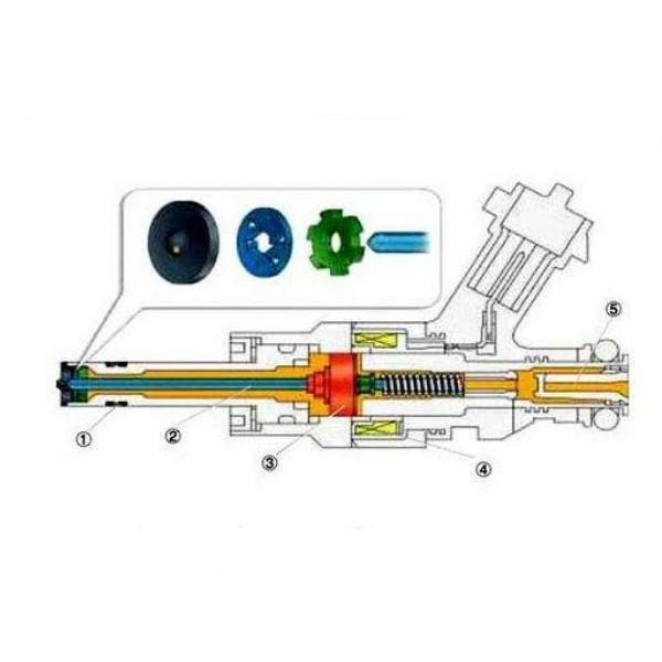 SKF 226400, Oil Injector Kit, 3000 Bar (300 MPA) Capacity (5) -Free Shipping-