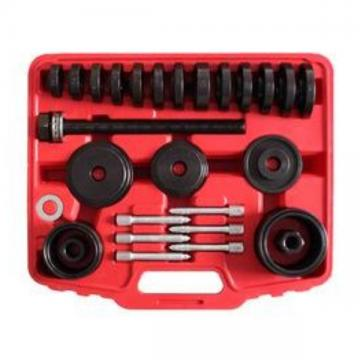 23 PCs Front Wheel Drive Bearing Removal Adapter Puller Pulley Tool Kit W/Case
