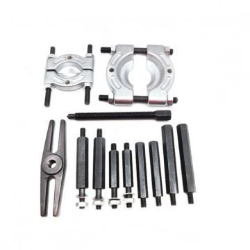 11pc Universal Hydraulic Press Support Block Plate Bearing Bush Car Repair Tool